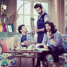 #trio #Ishqbaaazians #oberois #love #them @nakuulmehta @kunaljaisingh @leenesh_mattoo