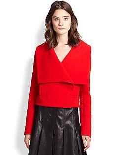 Ralph Lauren Black Label Brooke Cropped Jacket