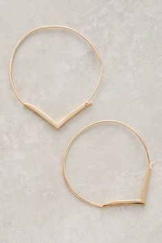 Pin for Later: 28 Delicate Jewels to Layer Up All Summer Jules Smith Vanellus Hoops Jules Smith Vanellus Hoops ($48)