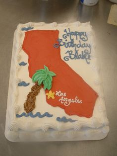 California Cake I So Want This For My Birthday