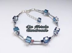 Hey, I found this really awesome Etsy listing at https://www.etsy.com/uk/listing/591678162/crystal-cube-bracelet-cubes-beaded