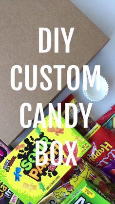DIY Custom Candy Box