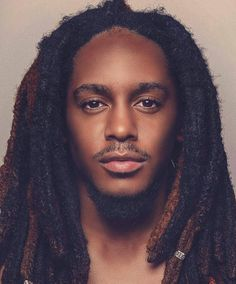 Embracing the Culture of Locs & Textured Hair Dreadlock Hairstyles For Men, Black Men Hairstyles, Haircuts For Men, Cool Hairstyles, Reggae Rasta, Nattes Twist Outs, Dreadlock Rasta, Dreadlock Styles, Loc Updo