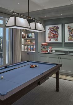Cool 42 Fabulous Game Room Design Ideas To Try In Your Home. # game room 42 Fabulous Game Room Design Ideas To Try In Your Home Game Room Family, Modern Pool Table, Pool Table Dining Table, Garage Game Rooms, Game Room Bar, Modern Pools, Luxury Pool, Room Design, Small Game Rooms