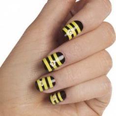 Bee Nail Designs, Tips and Tutorials
