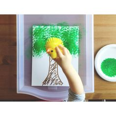 Apple Tree Painting