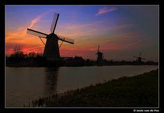 Kinderdijk #World heritage