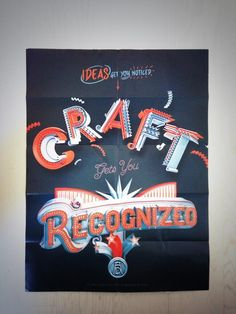 Ideas get you noticed, Craft gets you recognized by ilovedust