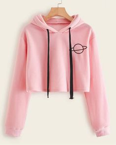 Cute Lazy Outfits, Crop Top Outfits, Stylish Outfits, Girls Fashion Clothes, Teen Fashion Outfits, Mode Outfits, Grunge Outfits, Mode Kawaii, Stylish Hoodies