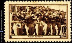 Temes-Asociación de Amigos de la Unión Soviética :: Segells del Pavelló de la República (Universitat de Barcelona) Balearic Islands, Civilization, Spanish, Barcelona, War, Stamps, Painting, Girlfriends, Spain