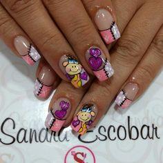 Manicure Nail Designs, Nail Manicure, Natural Acrylic Nails, Luxury Girl, Mani Pedi, Nail Tips, Hair And Nails, Make Up, Nail Art