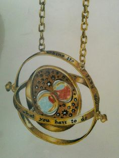 Pastel drawing of Time Turner by me