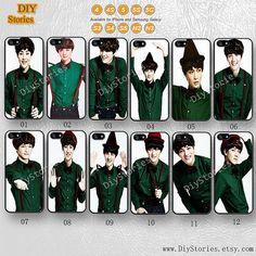 Exo, Idol, K-pop, Phone case... from DiyStories on Wanelo