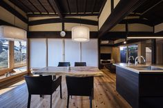 Japanese Interior, Japanese Architecture, Japanese House, Oriental, Conference Room, House Styles, Furniture, Home Decor, Ideas