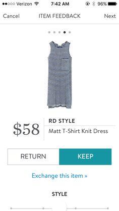 I like tshirt dresses especially if they have pockets
