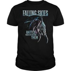 View images & photos of Falling Skies Battle Or Become t-shirts & hoodies