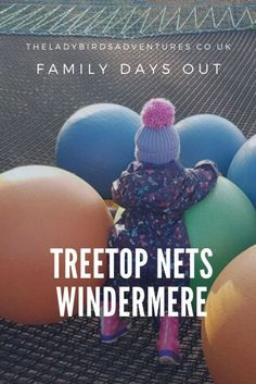 AD/press trip - Looking for a great family day out in the Lake District? Then read my Treetop Nets Windermere review. Find out how much my kids enjoyed these giant trampolines in the trees. #daysoutwithkids