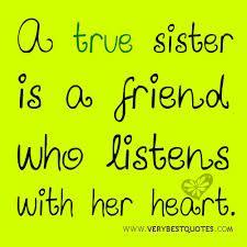 Sister Friendship