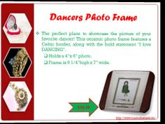 Awesome dancing #Accessories from #Ireland with prices