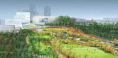 SCAPE's Masterplan for Lexington, Kentucky's Town Branch Commons. Image © SCAPE/Landscape Architecture