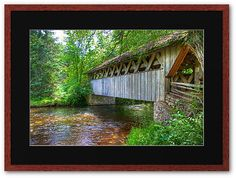 red mill waupaca wisconsin covered bridge | Little Chapel in the Woods by ECH52 Follow