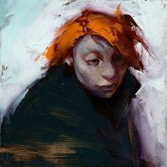 """Daily Paintworks - """"Controlled Burn"""" - Original Fine Art for Sale - © John Larriva Portrait Art, Portrait Photography, Portraits, John Larriva, Fine Art Gallery, Crazy Cats, American Art, Art For Sale, Art Prints"""