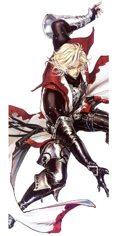 Leon Belmont Action Pose - Characters & Art - Castlevania: Lament of Innocence