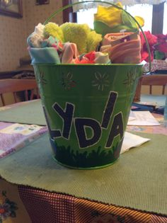 Easter bucket for my niece pic #2