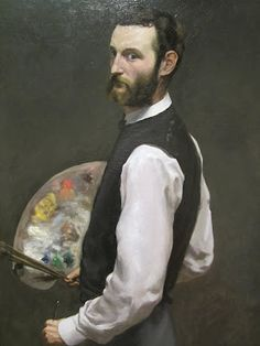 Dustinations: Chicago, Day 2 - Art Institute (3 of 3) Frederic Bazille - self portrait