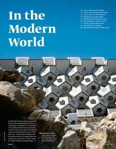 A Geometric Prefab Housing Complex in Jerusalem - Diana Budds | Writer