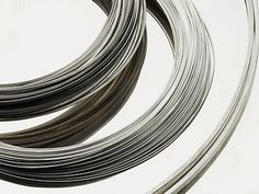 Buy sterling silver round wire for your latest jewellery making project. Whether it's ring-making or soldering, choose silver wire from Cooksongold.