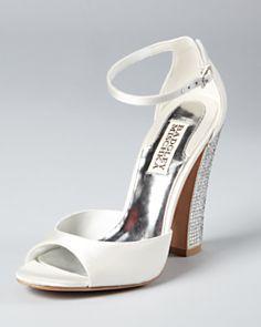 interesting white shoe... Wynter Block Heel Silver Block Heels 4743f51b717