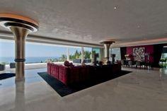 open reception room @  luxury villa  in Cascade de Camojan, Golden Mile, Marbella, Spain.
