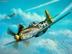 ww2 fighter planes | ... : Mustang With World War Ii Fighter Planes, picture nr. 16106