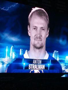#6 Tampa Bay Lightning Anton Stralman.