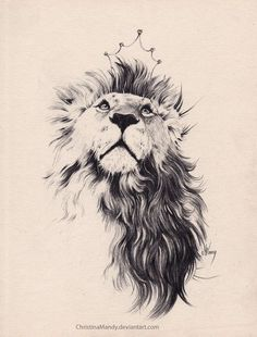 Idea for ink: lion with flowing mane and a rose in its mouth