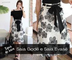 Ideias Fashion, High Waisted Skirt, Two Piece Skirt Set, Chic, My Style, Stylish, Skirts, Clothes, Beautiful