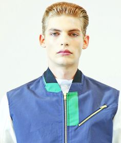 Baptiste Radufe at Tim Coppens S/S 2013