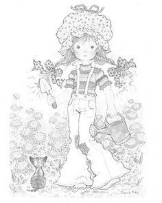 desenhos para colorir sarah kay