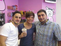 Louis at Milkshake City
