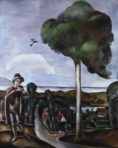 Le Joueur de Cornemuse de Camiers - André Derain (1880-1954, France)