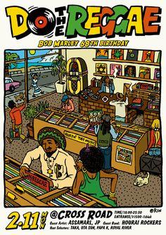 do the reggae Reggae Rasta, Rasta Art, Reggae Music, Rastafari Art, Dub Music, Reggae Style, Concert Posters, Look At You, Bob Marley