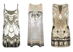 la modella mafia All Saints sequin dresses