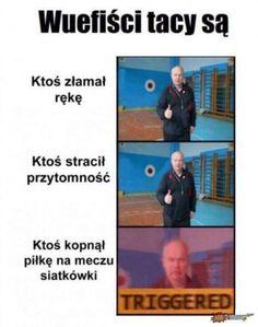 #memes Wtf Funny, Funny Jokes, Polish Memes, Weekend Humor, Funny Mems, Happy Photos, Mood Pics, King Julian Quotes, Best Memes