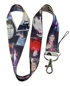 Michael Jackson Pictures Lanyard Keychain or Badge Holder Gift Lanyard Keychain, Badge Holders, Michael Jackson, Singer, Personalized Items, Pop, Pictures, Gifts, Shopping