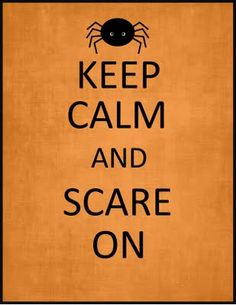 *Add magnets to a frame for fridge. Switch up keep calm signs and subway art signs for each holiday or occassion* #Halloween #Halloween make-up