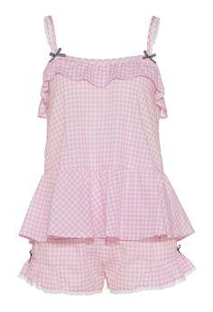 Peter Alexander is Australia's leading sleepwear designer brand. Shop the Pyjama King's women pyjamas, mens sleepwear and kids PJs online and bring the fun to bedtime. Cute Pjs, Cute Pajamas, Kawaii Fashion, Lolita Fashion, Pijamas Women, Mode Kawaii, Pink Lingerie, Pink Gingham, Mellow Yellow
