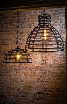 Hanglamp Molfetta - draadlamp - metaal - zwart - ETH