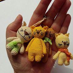 Breloczki #kot #cat #breloczki #keychains #szydełko #crochet #recznarobota #handmade