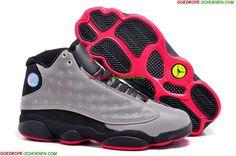 DAMes Nike Air Jordan 3 Retro Wit Grijs Rood Outlet Online